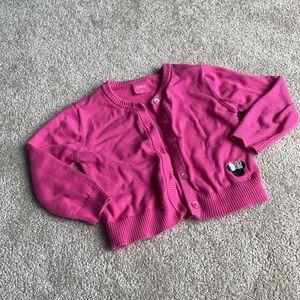Disney Pink Cardigan 3T